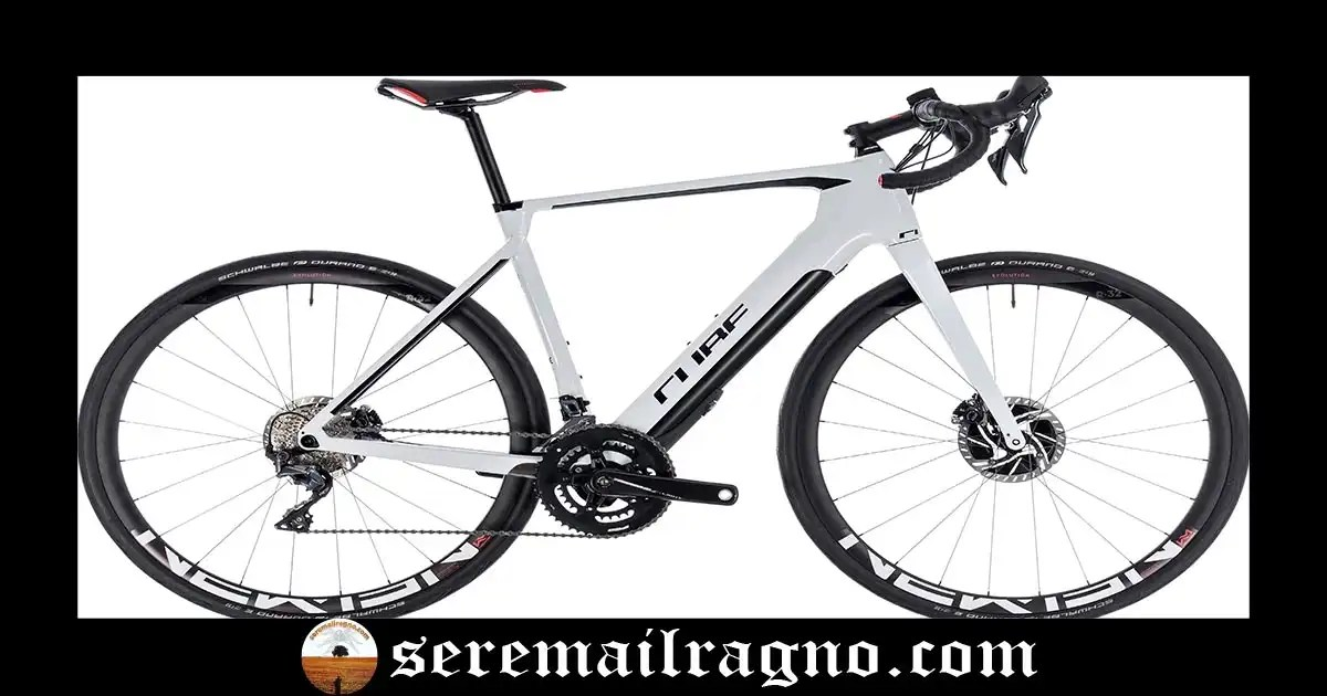 Bici da corsa ibrida – Cube Agree Hybrid