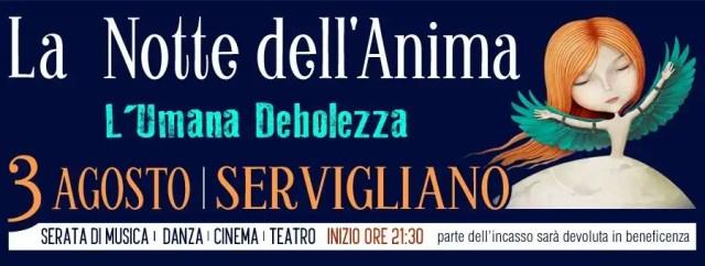 Notte dell'anima 2018 Servigliano