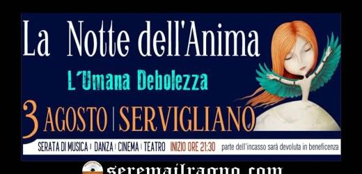 L'umana debolezza – Notte dell'anima 2018 a Servigliano