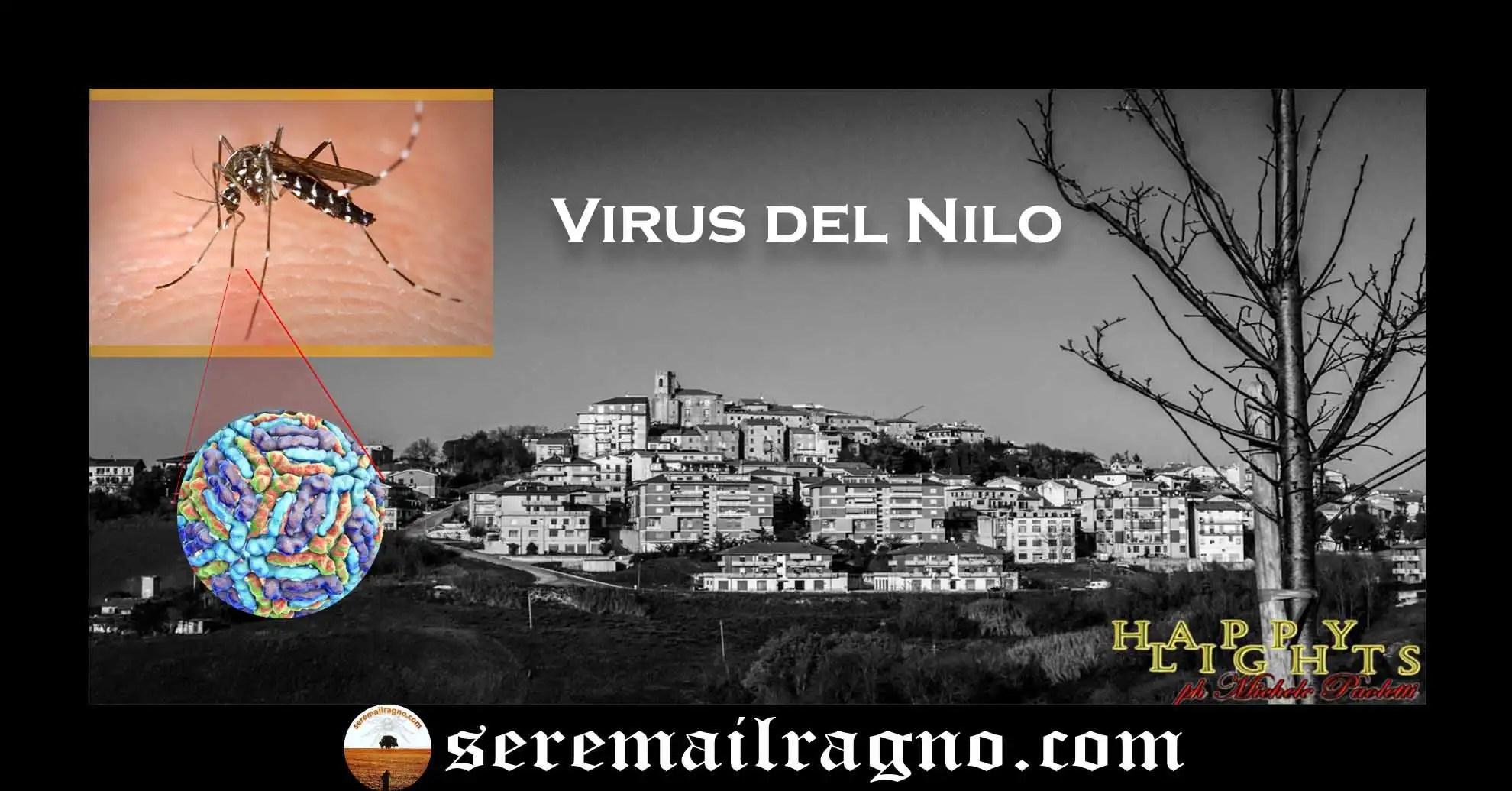 Monte Urano – Punto da un insetto, è stato contagiato dal virus del Nilo Occidentale