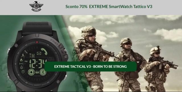 Smart watch tattico