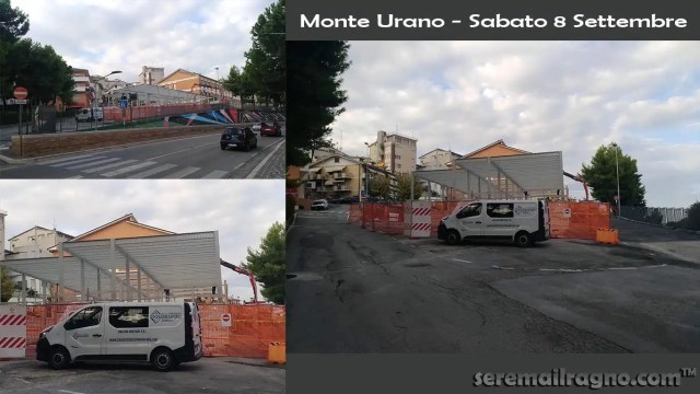 Struttura temporanea scuola media Monte Urano