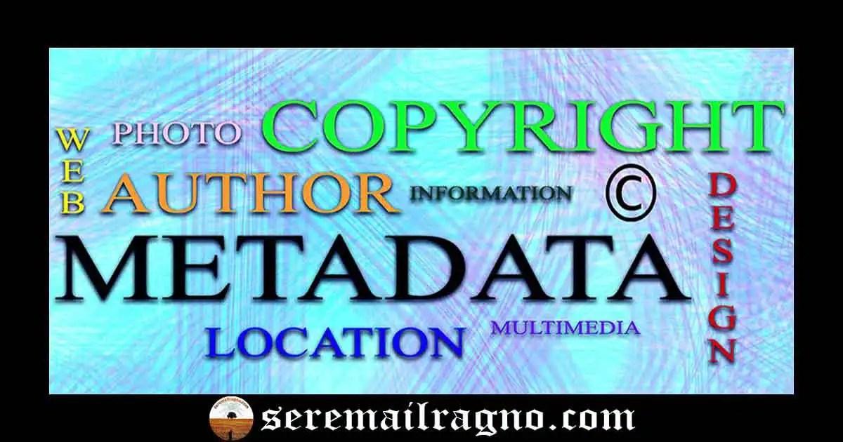 Scrittura digitale: utilizzare i metadati per proteggere i diritti d'autore nel web