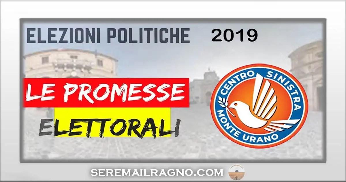 Centrosinistra Monte Urano: le promesse elettorali vanno mantenute in un mandato