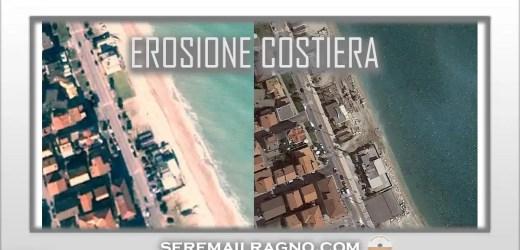 Allarme erosione – Porto Sant'Elpidio (Sud) ha perso più di 20 metri di spiaggia in 18 anni