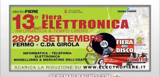 13° Fiera dell'elettronica a Fermo 28-29 Settembre 2019
