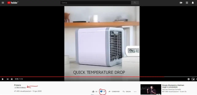 Sollievo istantaneo dal caldo e dall'umidità estiva? Lo scam dell'Artic Cube