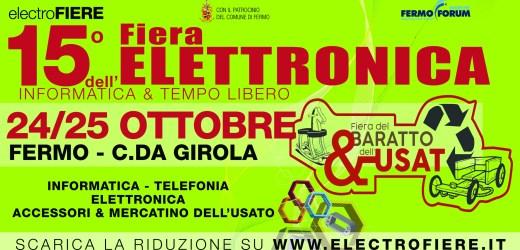 15° Fiera dell'elettronica a Fermo 24-25 Ottobre 2020
