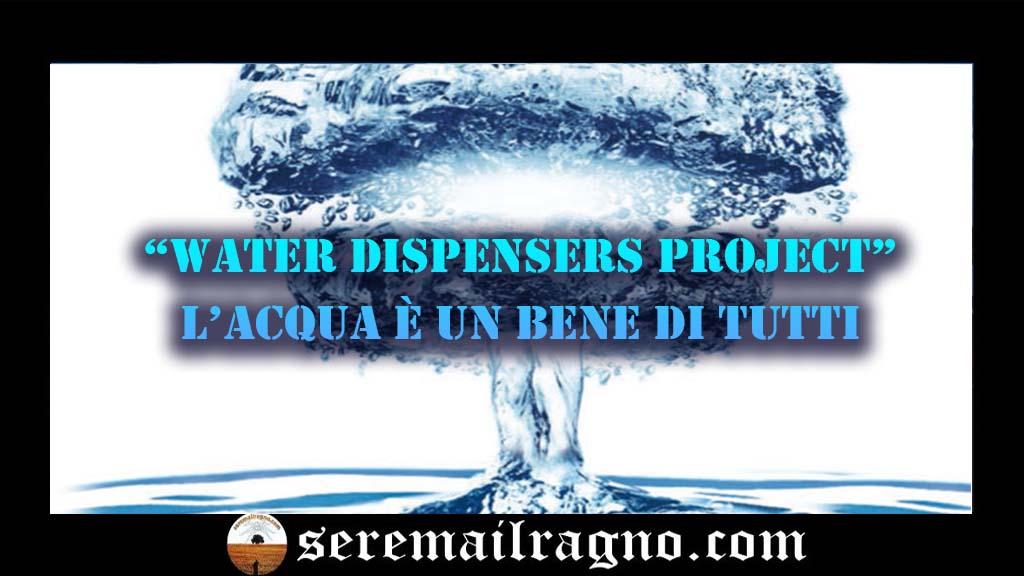 Un progetto per mappare fontanelle e distributori d'acqua nella Regione Marche