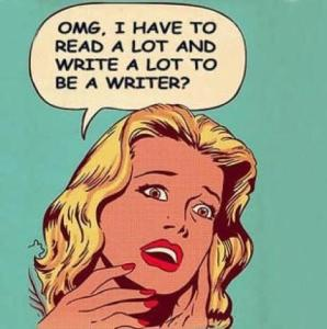 leggere molto e scrivere molto