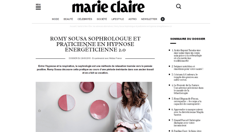 Marie-Claire Magazine Digital