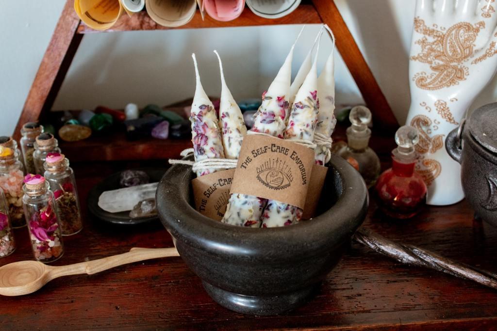 wicca bougies vegetales
