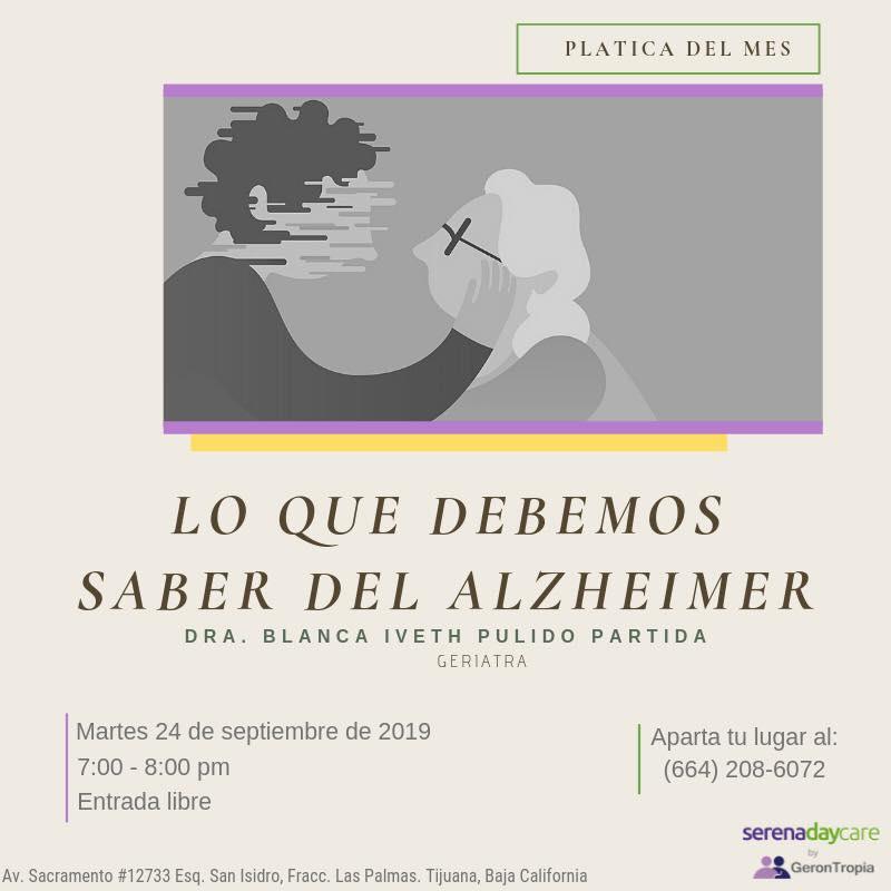 Lo que debemos saber del Alzheimer