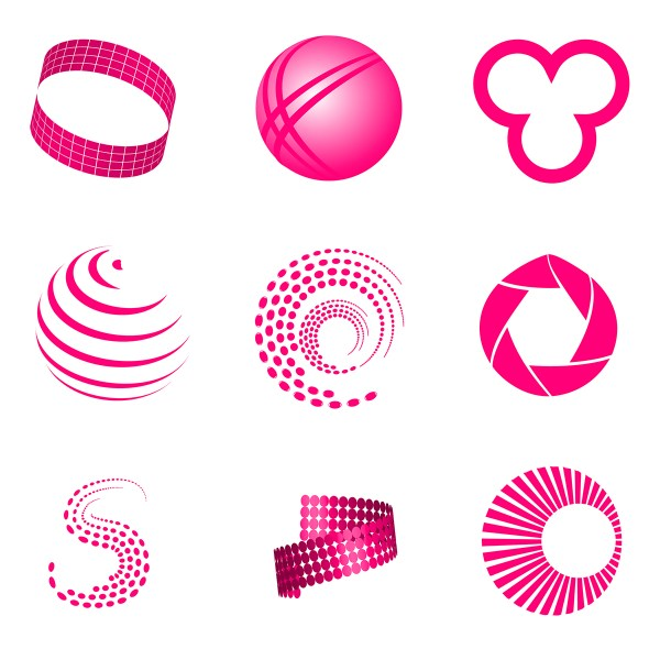 Abstract Logo Elements & Icons