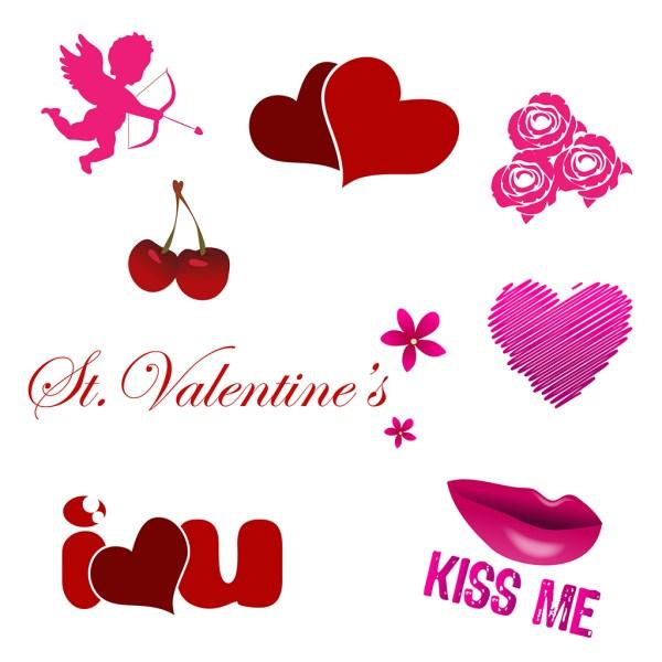 Valentine's Icon Set