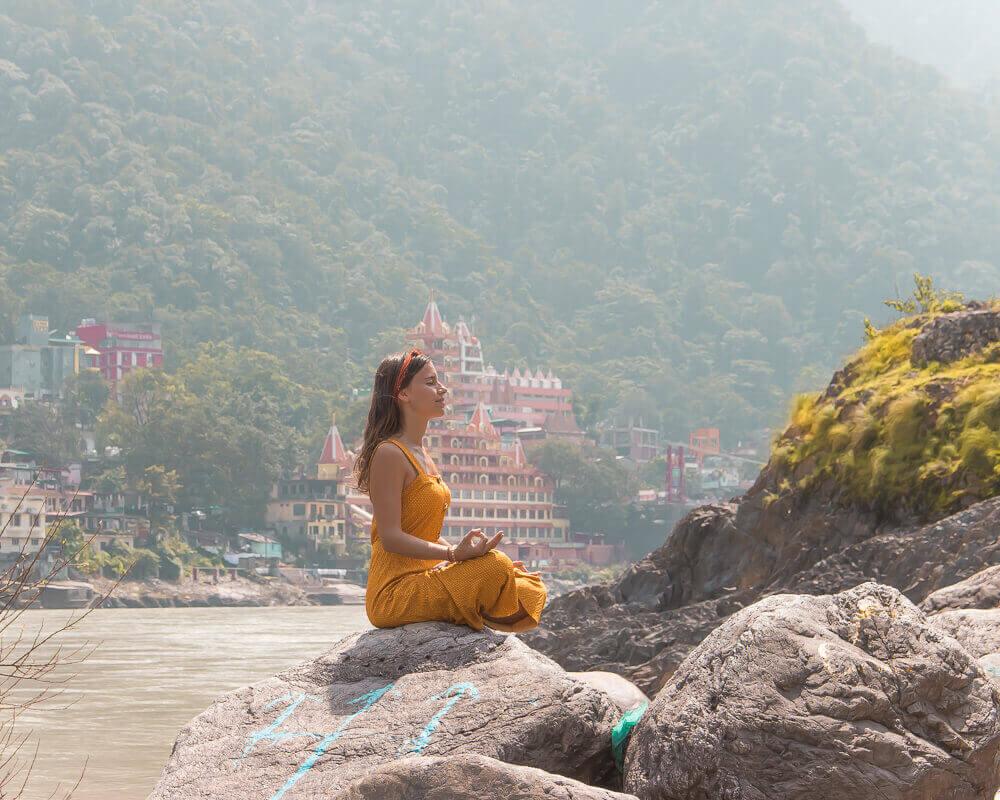 Retiro de yoga en la India, Rishikesh