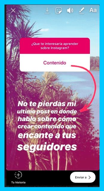 Como usar la función preguntas en las historias de Instagram