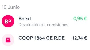 Tarjetas prepago Bnext