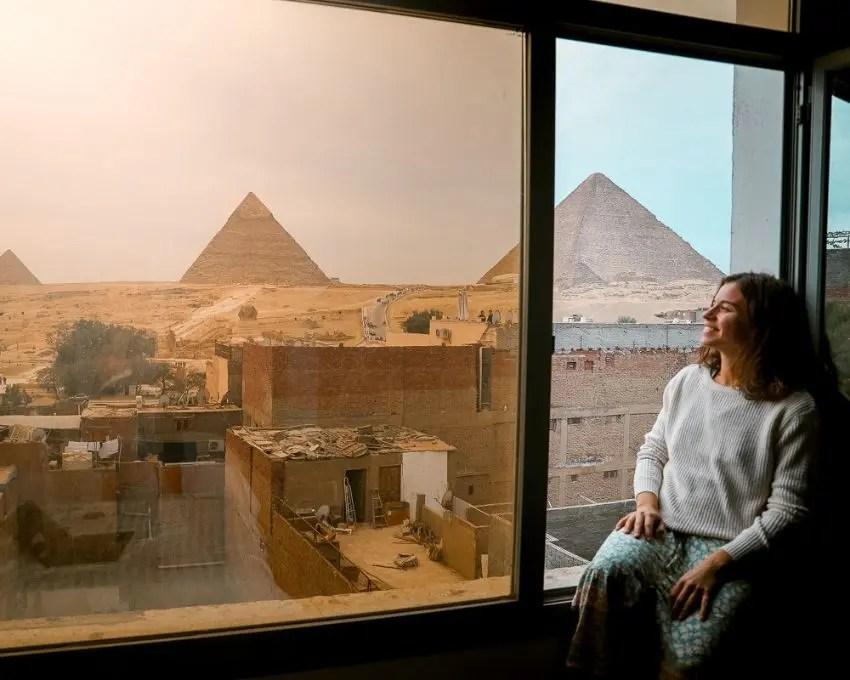 donde dormir en Giza