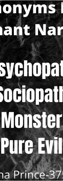 Quora Answers: Psychopath, Sociopath, Or Malignant Narcissist?