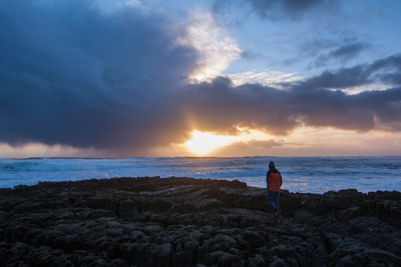Light amid the storm in Doolin, County Clare.