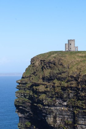 O'Brien's Tower stands watch over the Cliffs of Moher, like it has since the 19th century.