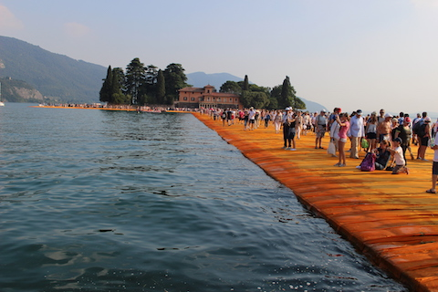 Christo Lago Iseo by Serena Ucelli _8590