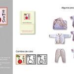 Serezita. Marca de indumentaria para bebés. Diseño y realización de prendas y accesorios para bebés.