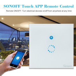 Sonoff Wifi Plug Base Touch Switch – Without Sonoff Brand