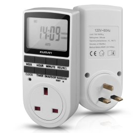 Digital Timer Switch Sri Lanka 12/24 Hour 7 Day Programmable Socket LCD Electronic Timer Switch