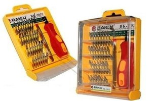 ELECTRONIC SCREWDRIVER SET 32 IN 1 (YELLOW SQUARE)