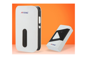 AITENG DIGITAL Wireless Waterproof Home Doorbell Calling Bell Door Chime (AC) MODEL V017D