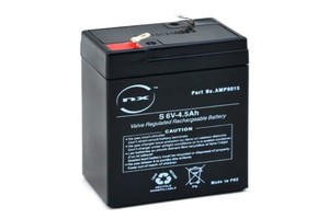 6V 4AH CONSENT SEALED LEAD ACID RECHARGEABLE BATTERY