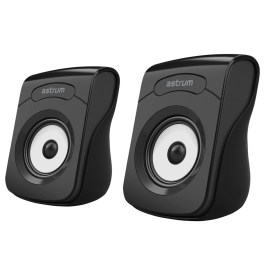 ASTRUM 2.0 USB WIRELESS SPEAKER (BLACK) ST110