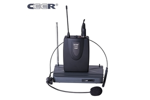 CEER VHF WIRELESS HEADSET MICROPHONE SC-900