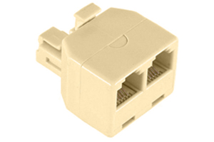 TELEPHONE CONNECTOR 2 WAY