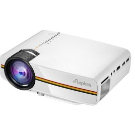 Mini Projector 1200 Lumens for Phone Projector Support 1080P Full HD LED Projector