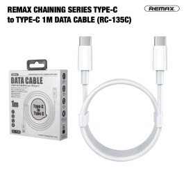 Remax Fast-Charging Type-C to Type-C Sri Lanka Data and Charging Cable RC-135C