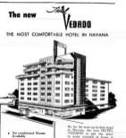 La Habana, hôtel Vedado (Victoria) 1963