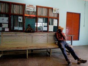 Maranzas, mirada en la estación, enero 2015