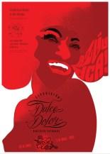 """Michele Miyares, affiche Dulce Dolor, sérigraphie 19,5 X 27,5"""". 2015. Droits réservés."""