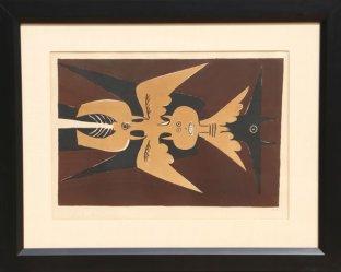 Wifredo Lam, Emblème 1952. Photo droits réservés.