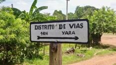 Yara, village mythique de l'Histoire cubaine, se traverse en quelques minutes.