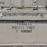 Familia Vinet y Simono, cementerio Santa Ifigenia de Santiago de Cuba.