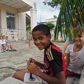 Au centre aéré de Vista ALegre, Santiago de Cuba 2015.