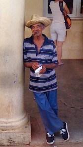 L'inconnu au cigare, Viñales 2010.