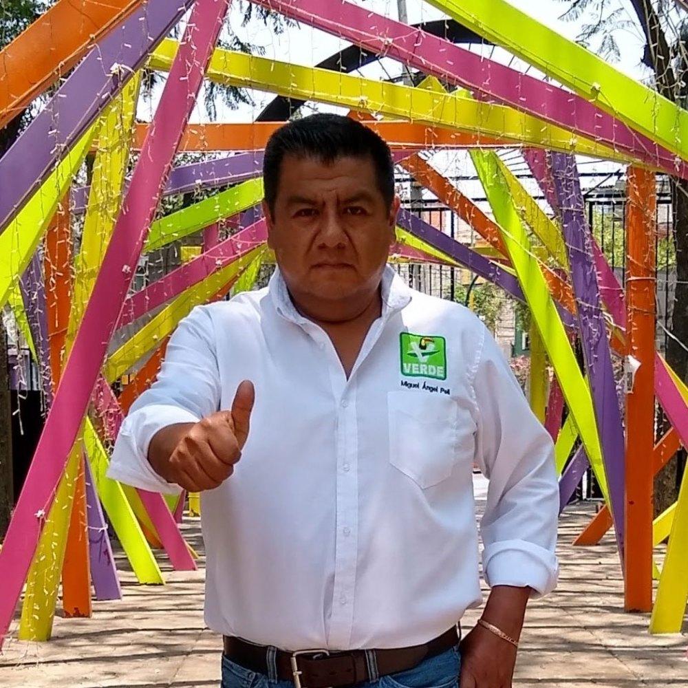 Candidatos a diputados federales: Miguel Ángel Pérez Limón