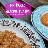 DIY Baked Sharpie Plates 🍽🖌