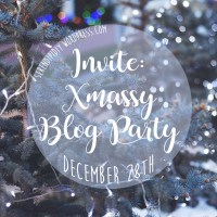 Invite: Xmassy BLOG PARTY! Dec 28th