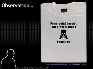 Powerpoint T-shirt